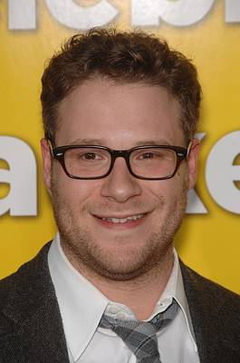 Seth Rogen At Arrivals For Paul Poster by Everett