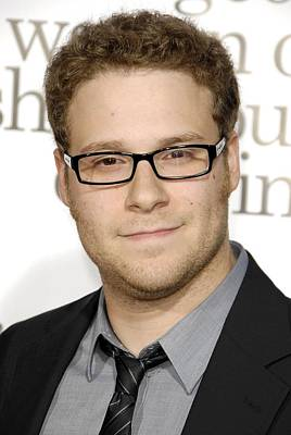 Seth Rogen At Arrivals For Premiere Of Poster by Everett