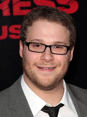 Seth Rogen At Arrivals For The Poster by Everett