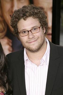 Seth Rogen At Arrivals For You, Me And Poster by Everett