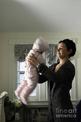 Shaken Baby Syndrome Poster by Photo Researchers, Inc.