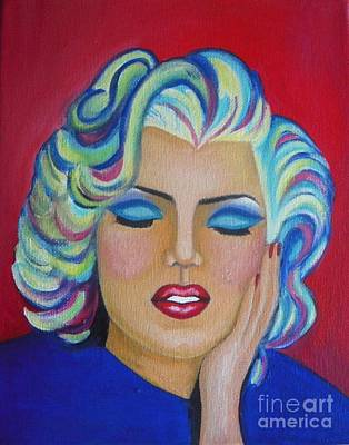 Marylin Monroe Poster by Vesna Antic