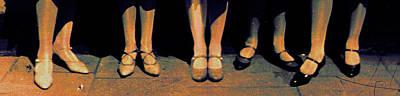 Shoe Parade Poster by Li   van Saathoff