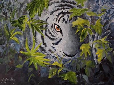Siberian Hunter Poster by Joanne Smoley