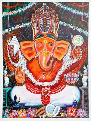Sidhi Vinayak - The Remover Of All Obstacles Poster by Narayan Mayya