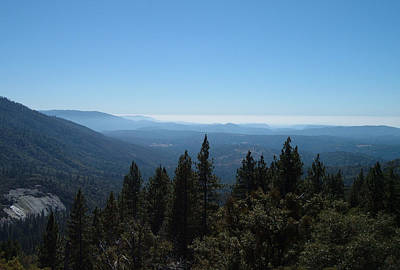 Sierra Nevada Mountains Poster by Naxart Studio