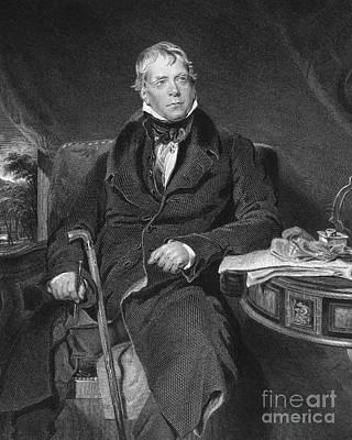 Sir Walter Scott (1771-1832) Poster by Granger