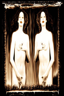 Sisters Of Silence Poster by Fine Art  Photography