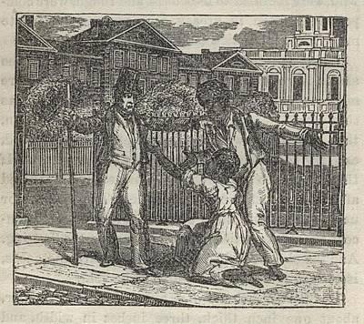 Slave Henry Bibb Was Assigned Find Poster by Everett