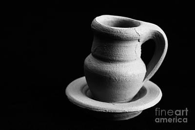 Small Pottery Item Poster by Gaspar Avila