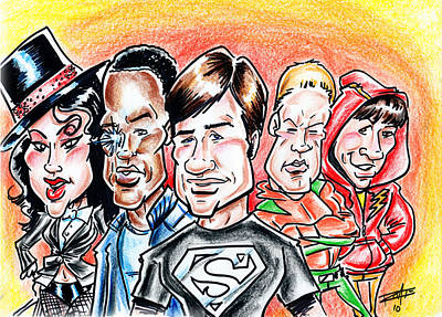 Smallville Poster by Big Mike Roate