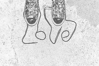Sneaker Love 2 Poster by Paul Ward