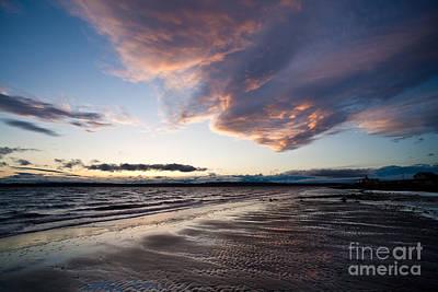 Soaring Beach Poster by Mike Reid