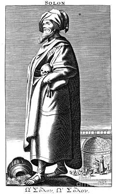 Solon (638?-?559 B.c.) Poster by Granger