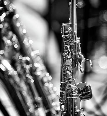 Soprano Saxophone Poster by © Rune S. Johnsson