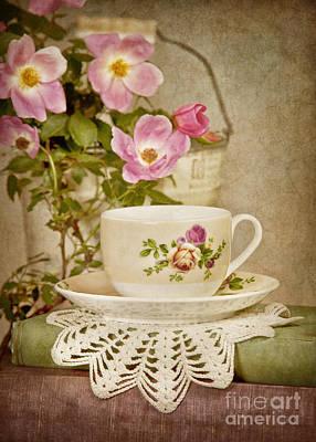 Southern Tea Poster by Cheryl Davis