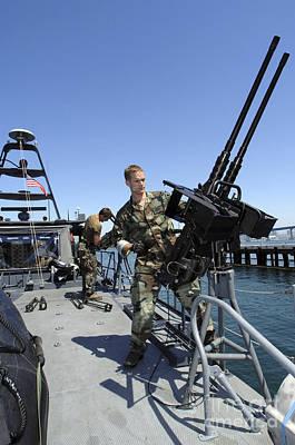 Special Warfare Combatant Craft Crewmen Poster by Stocktrek Images