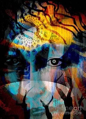 Spiritual Visitation Poster by Fania Simon