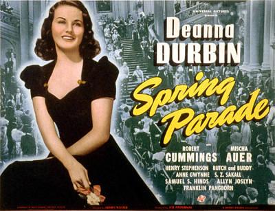 Spring Parade, Deanna Durbin, 1940 Poster by Everett