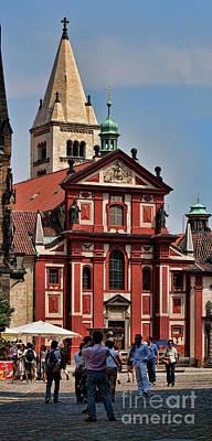 St. Georgs Basilika Poster by Joerg Lingnau