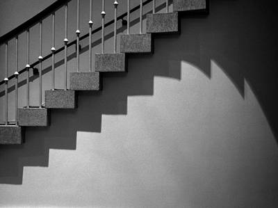 Stairway Shadows Poster by Steven Ainsworth