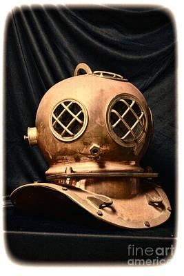 Steampunk - Diving - Diving Helmet Poster by Paul Ward