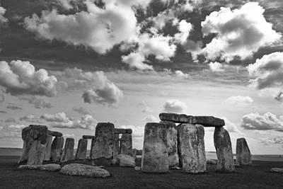 Stonehenge 2 Poster by Maj Seda