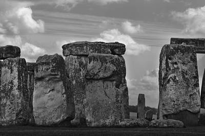 Stonehenge 50 Poster by Maj Seda