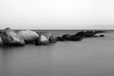 Stones In The Sea 4 Poster by Falko Follert