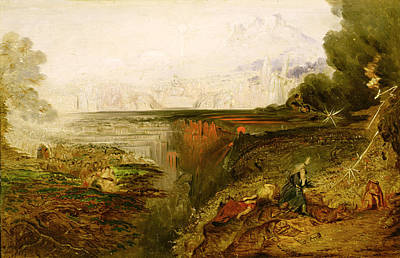 Study For The Last Judgement Poster by John Martin