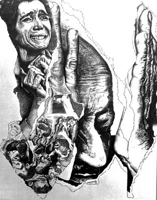 Suffering-holocaust Poster by Tj Voelker