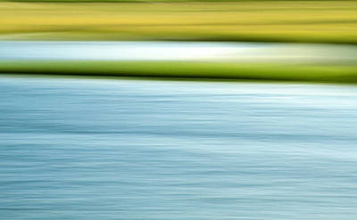Summer Marsh Poster by Doug Hockman Photography