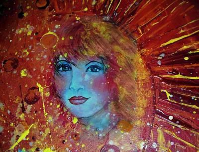 Sun Goddess Poster by Robin Monroe