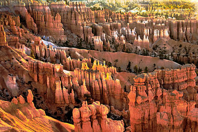 Sunrise Point At Sunrise Poster by Robert Bales