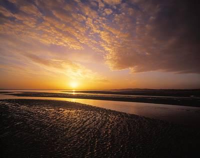 Sunrise, Sandymount Strand Dun Poster by The Irish Image Collection