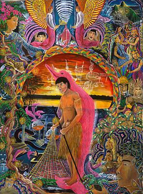 Supai Pucabufeo Poster by Pablo Amaringo
