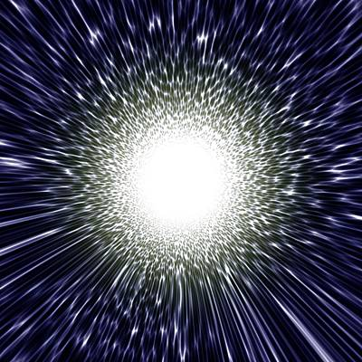 Supernova Explosion, Artwork Poster by Mehau Kulyk