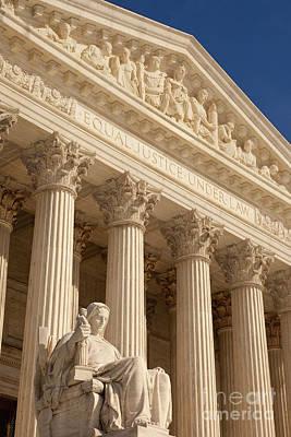 Supreme Court Poster by Brian Jannsen
