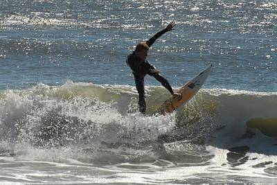 Surfing 412 Poster by Joyce StJames