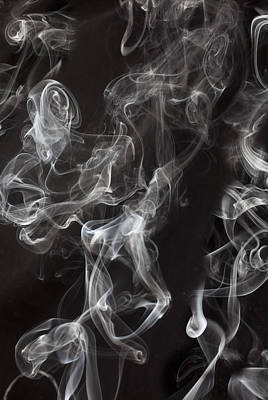 Swriling Smoke  Poster by Garry Gay