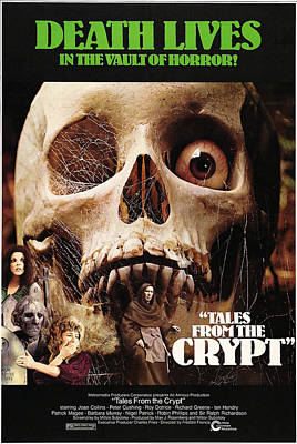 Tales From The Crypt, On Left From Top Poster by Everett