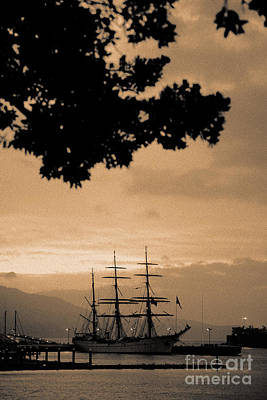 Tall Ship Gorch Fock Poster by Gaspar Avila