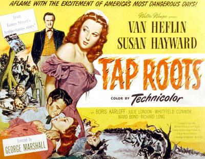 Tap Roots, Van Heflin, Susan Hayward Poster by Everett