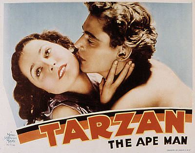 Tarzan The Ape Man, Maureen Osullivan Poster by Everett