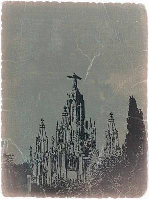 Temple Expiatory Poster by Naxart Studio