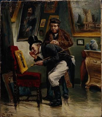 The Art Dealer Poster by H Jahn