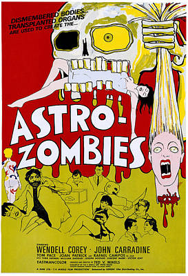 The Astro-zombies, 1968 Poster by Everett