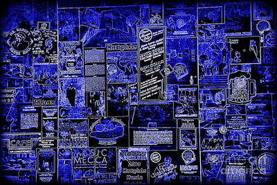 The Blues In Memphis Poster by Carol Groenen