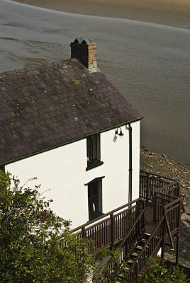 The Boathouse At Laugharne Poster by Steve Purnell