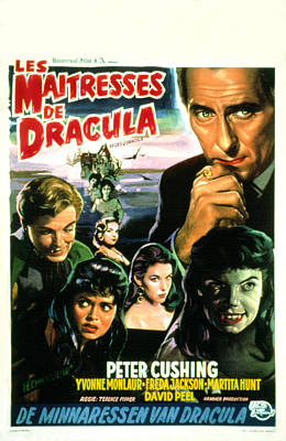 The Brides Of Dracula, Aka Les Poster by Everett